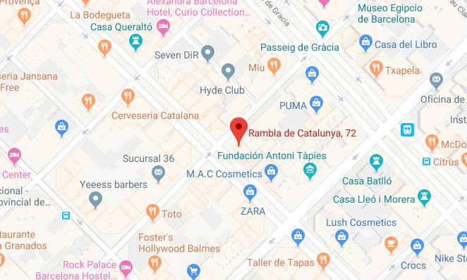 Rambla Catalunya 72 3º 2ª